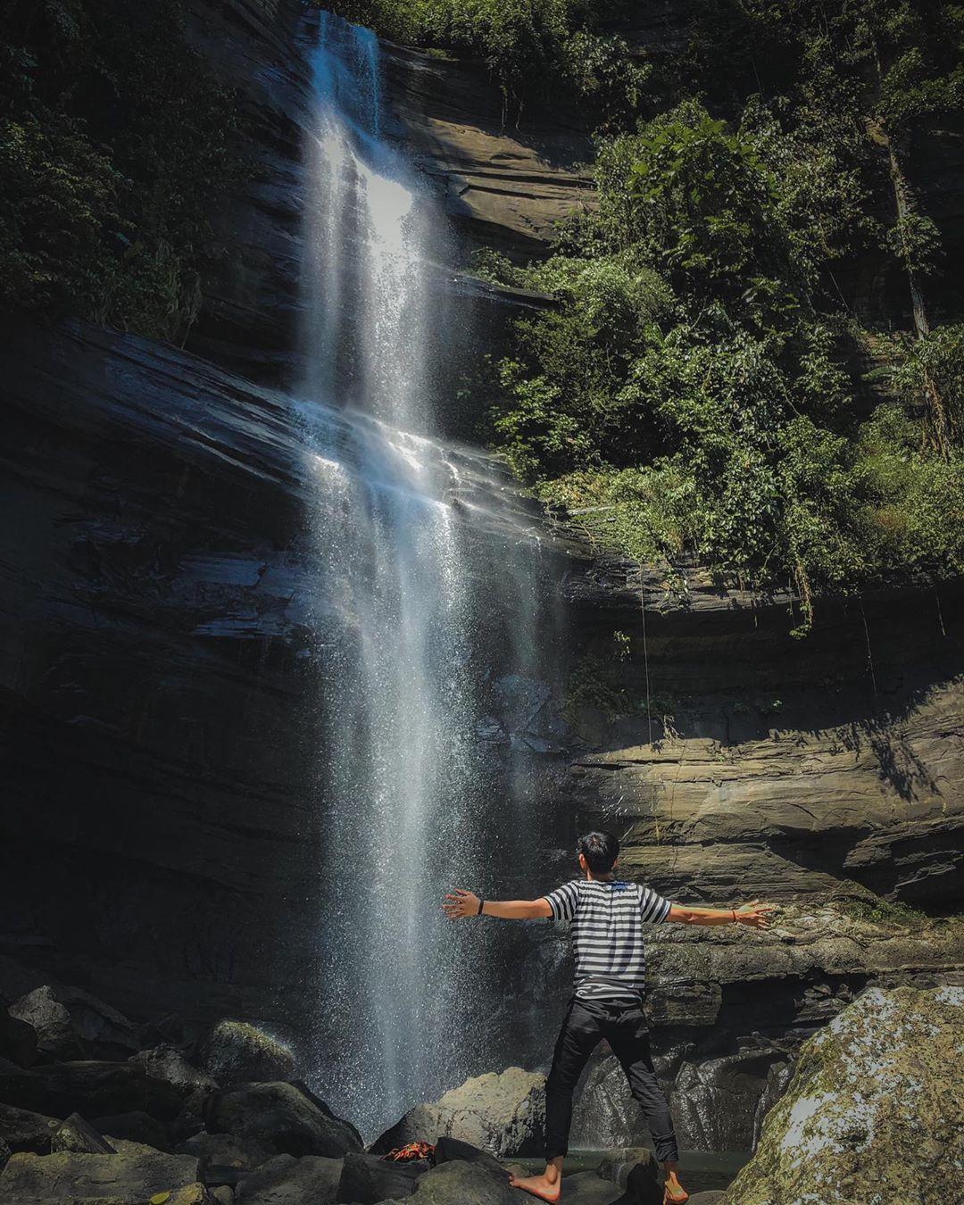 Air terjun Karawa Tempat Wisata Pinrang