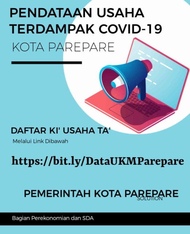 Pemkot Parepare Data UMKM Terdampak Covid-19