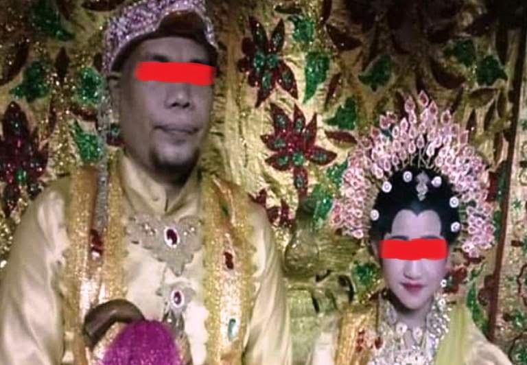 Kisah Pria Tunanetra Nikahi Gadis 12 Tahun di Pinrang