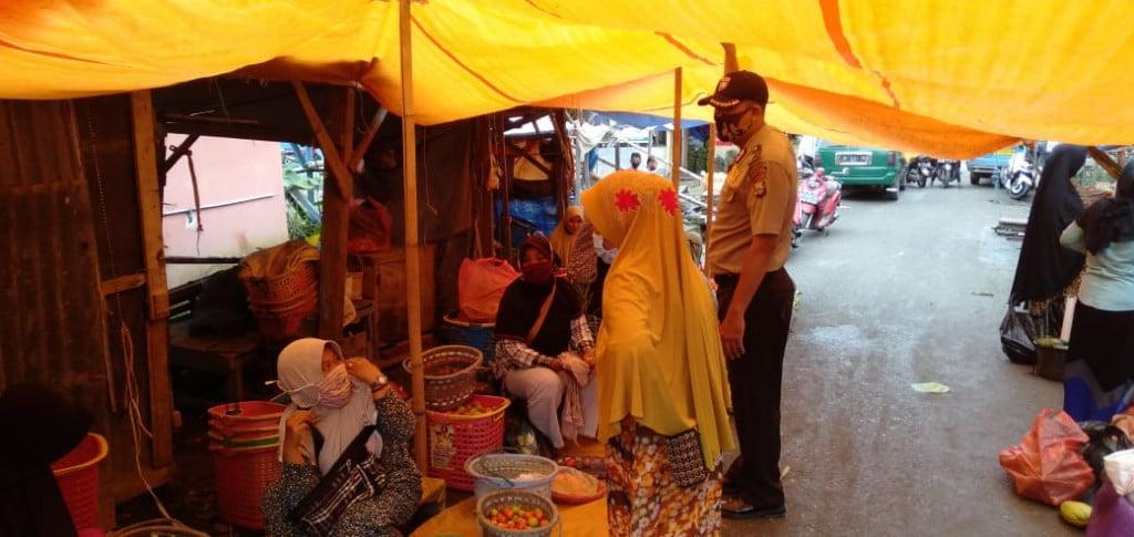 Polsek Alla Patroli Di Pasar Sudu