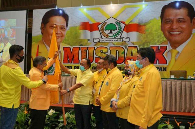 Taufan Pawe Terpilih Ketua DPD