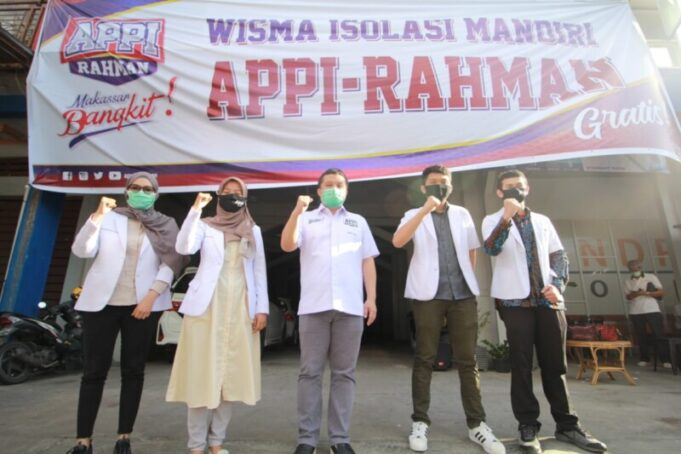 Wisma Isolasi mandiri Appi-Rahman