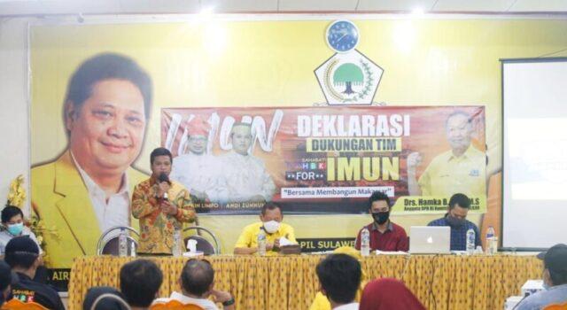Sahabat HBK Siap Berjuang Menangkan Irman - Zunnun di Pilwalkot Makassar