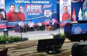 Rekor, Appi-Rahman Terkoneksi dengan 2.222 Peserta Kampanye Virtual