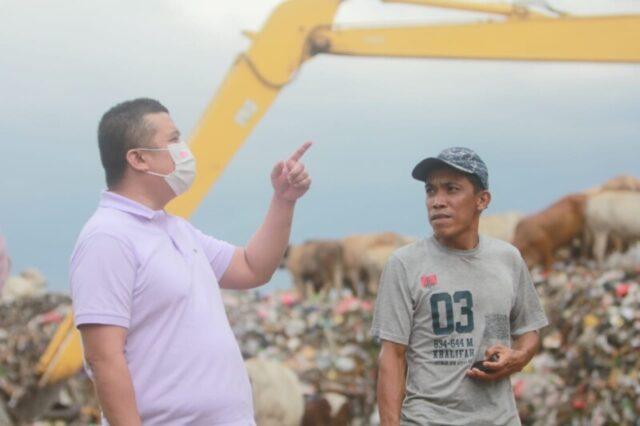 Erwin Aksa Tinjau TPA Antang, Buktikan Kegagalan Danny Pomanto Kelola Sampah di Makassar