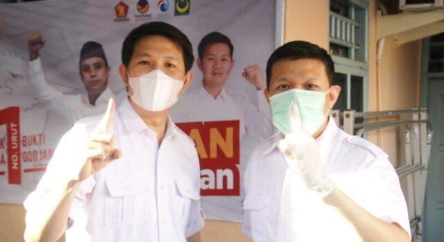 Duo Legislator Bersaudara Kompak di Kampanye Fatmawati