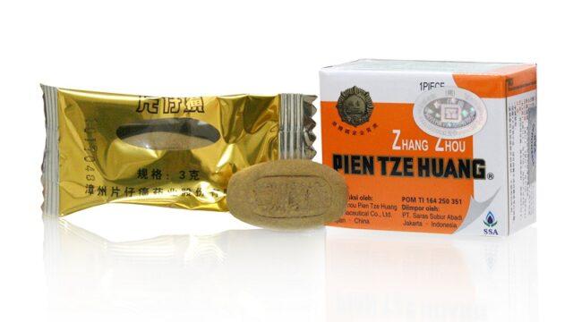 Pien Tze Huang, Gejala Tipes