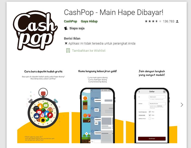 Aplikasi Penghasil Rupiah Cepat