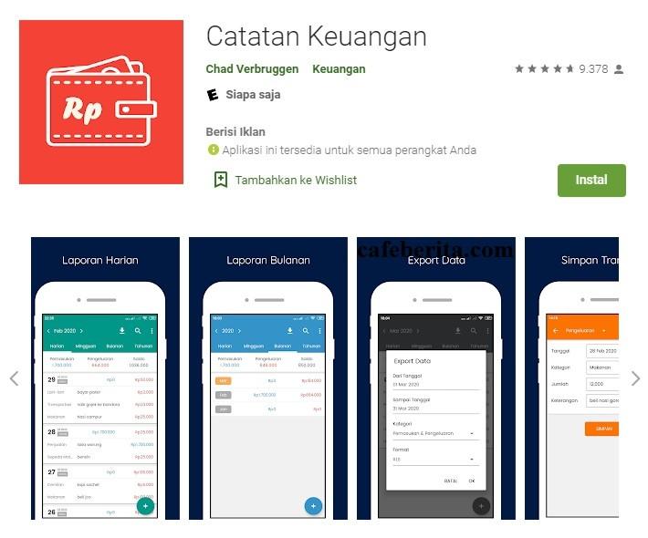 10 Aplikasi pembukuan usaha kecil android
