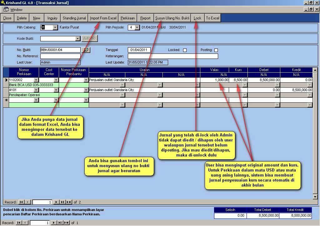 Download software akuntansi excel gratis full version