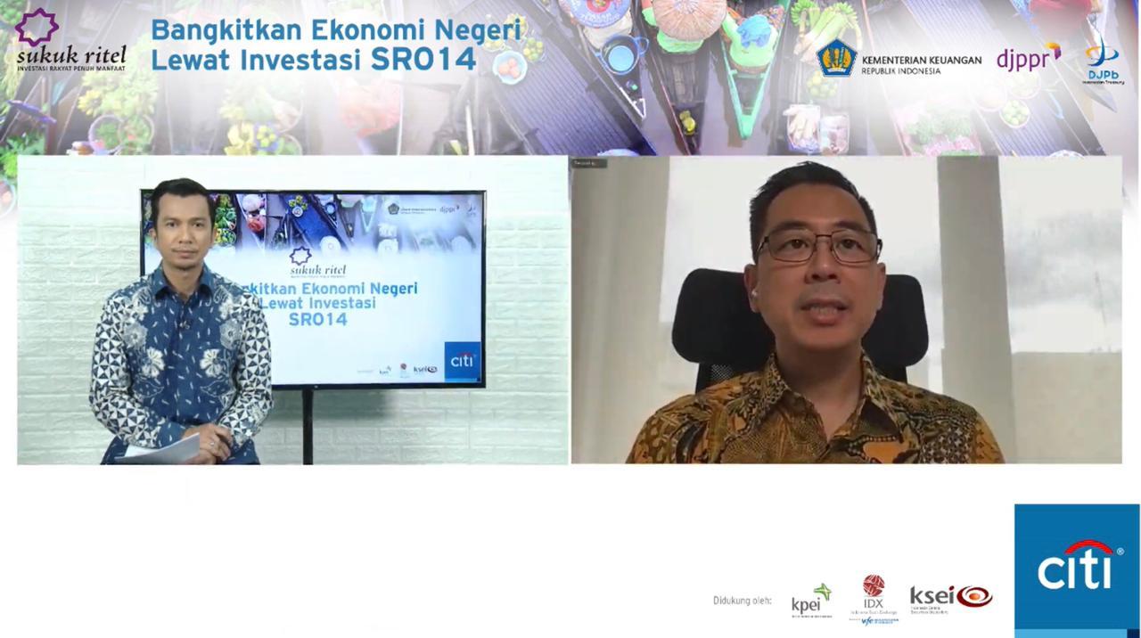 Kemenkeu Tawarkan Investasi SR014 di Indonesia Timur, Kerjasama Citibank Indonesia