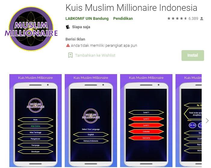 Game Halal Islami di Indonesia Berikut Daftarnya