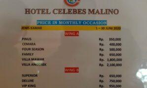 Harga Kamar Hotel Celebes Malino
